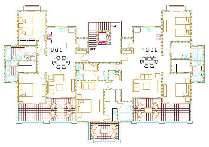 Pianta appartamento idee di design per la casa for Planimetrie per aggiunta suite in legge